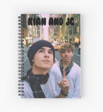Cuaderno de espiral Kian y Jc City