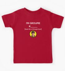 """I'm Groupie Number.... "" Joss Whedon's Dr. Horrible - Light Kids Tee"