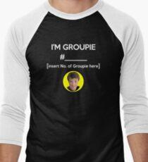 """""""I'm Groupie Number.... """" Joss Whedon's Dr. Horrible - Light Men's Baseball ¾ T-Shirt"""