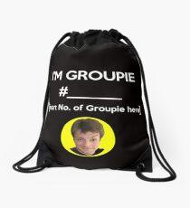 """""""I'm Groupie Number.... """" Joss Whedon's Dr. Horrible - Light Drawstring Bag"""