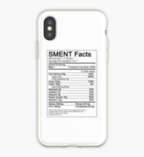 SMENT Nutrition Facts iPhone Case