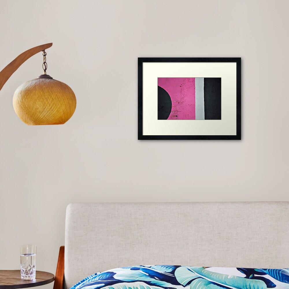 The Space Between Framed Art Print
