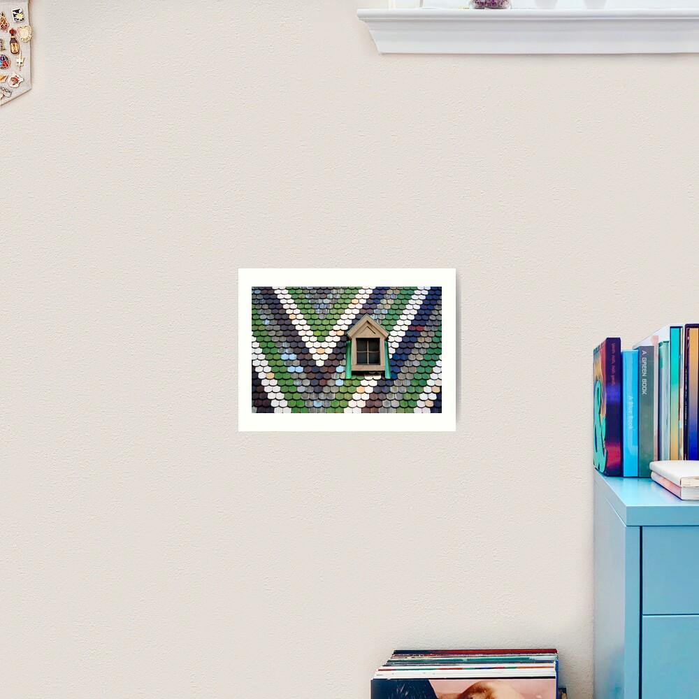 Window, Stephansdom Art Print