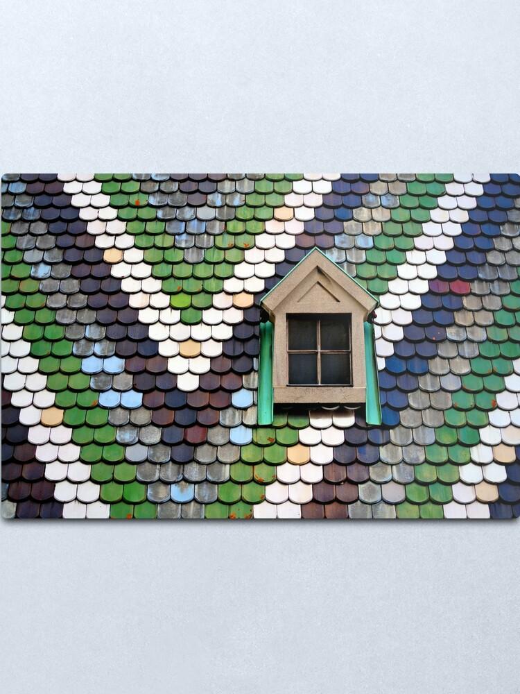 Alternate view of Window, Stephansdom Metal Print
