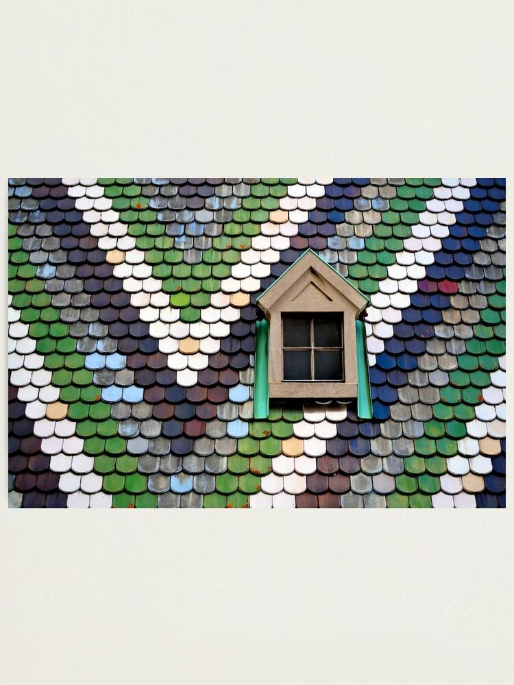 Alternate view of Window, Stephansdom Photographic Print