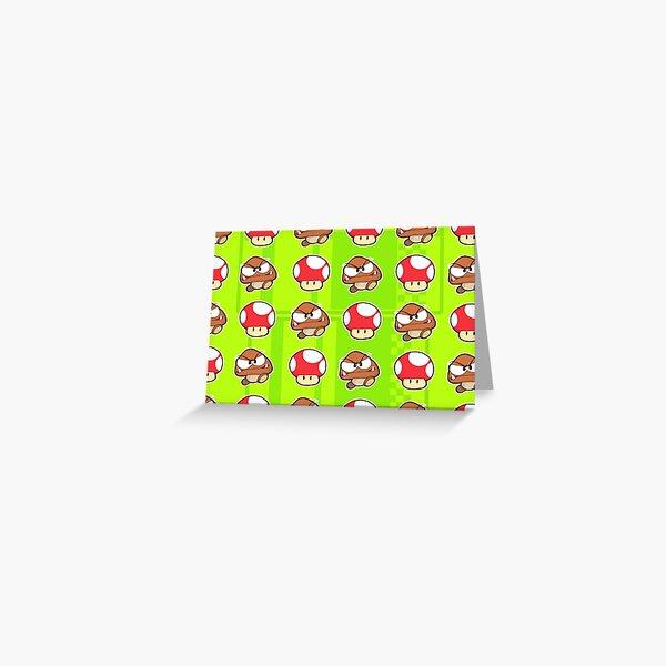 Goomba Shrooms Greeting Card