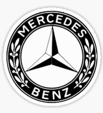 MERCEDES-BENZ PAGODA BADGE Sticker