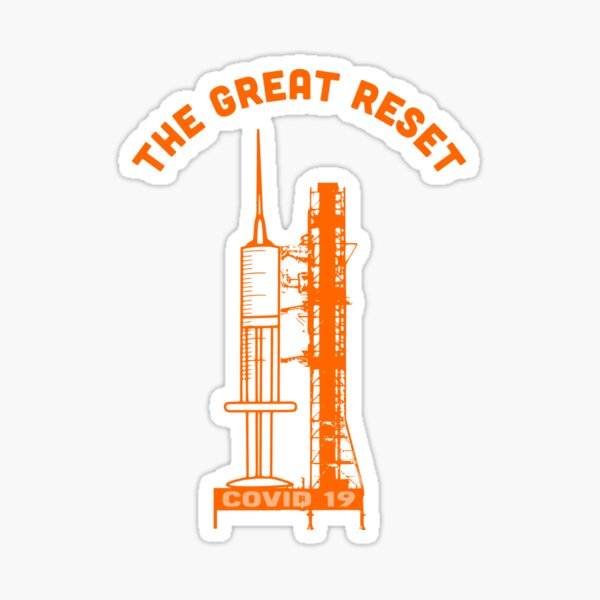 THE GREAT RESET Sticker
