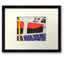 View from London Jubilee Line Framed Print