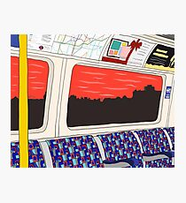 View from London Jubilee Line Photographic Print