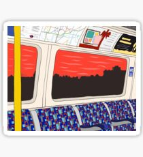 View from London Jubilee Line Sticker