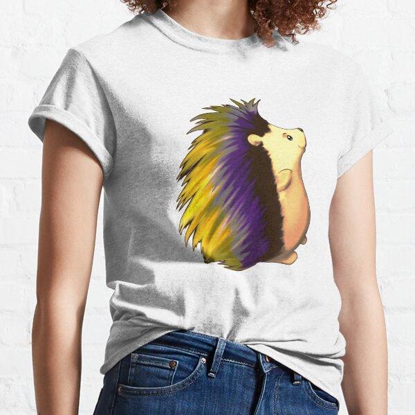 Cute Hedgehog nb colors Classic T-Shirt