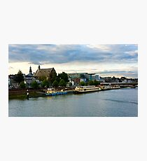 Maastricht Waterside Afternoon Photographic Print