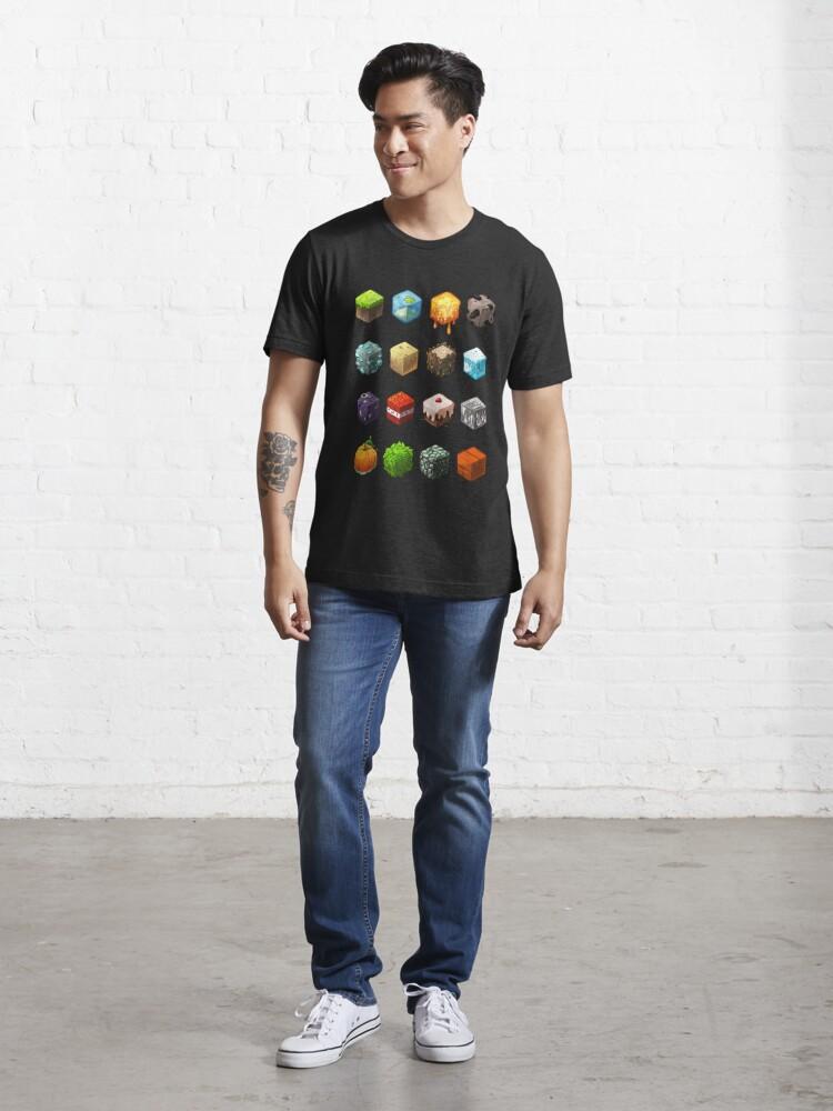 Alternate view of Blocks Essential T-Shirt