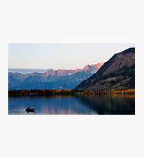 Zell am See Evening Photographic Print
