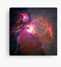 Orion Nebula [Pink]   Fresh Universe Metal Print
