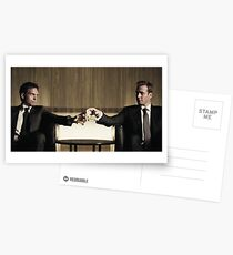 Suits friendship Postcards
