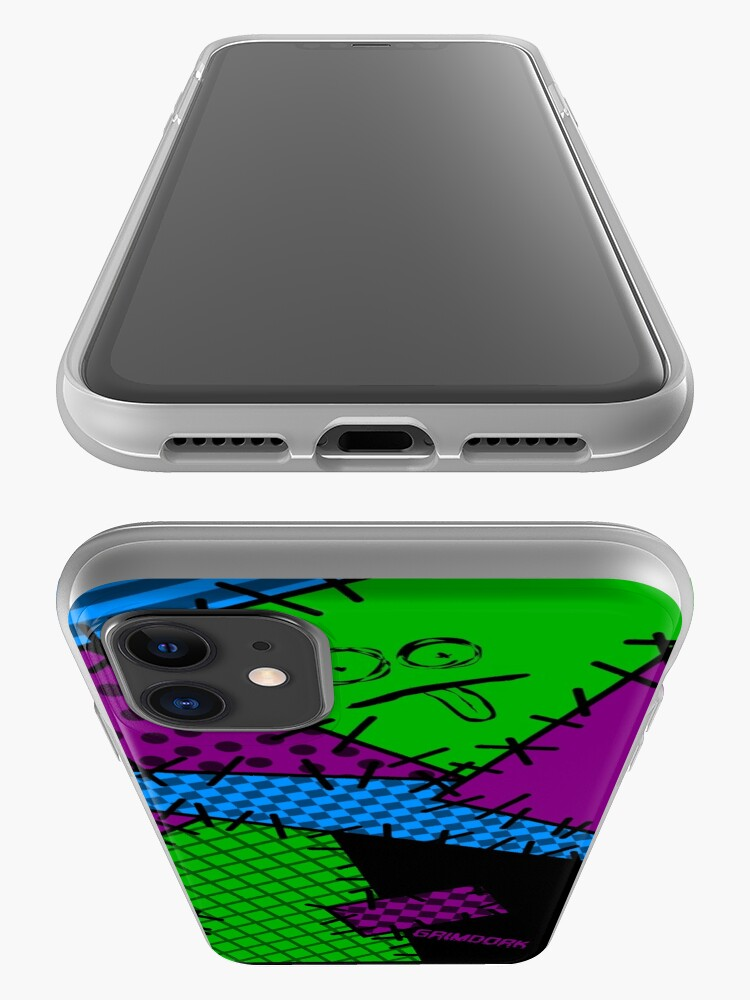 Alternate view of Patchwork Punk iPhone Case & Cover