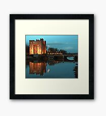 Bunratty Castle At Night, County Clare, Ireland Framed Print