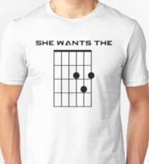 She Wants the D (Chord) Slim Fit T-Shirt
