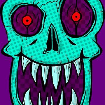 Killer Skull by GrimDork