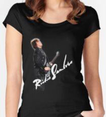 richie sambora Women's Fitted Scoop T-Shirt
