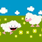 Tiny Sheeps by Sonia Pascual