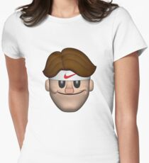 SPORT ROGER FEDERER EMOJI Women's Fitted T-Shirt