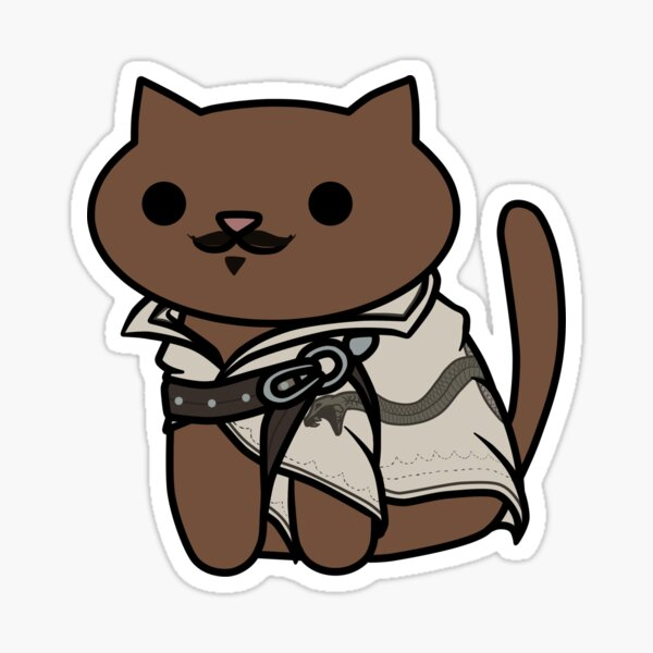 Dorian the Cat Sticker