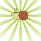 Adventure Time snail possessed - Green Case by benenor90