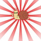 Adventure Time snail possessed - Red Case by benenor90