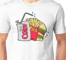 junk food and a diet coke Unisex T-Shirt