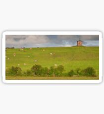 rural ireland scenic nature cows countryside landscape Sticker