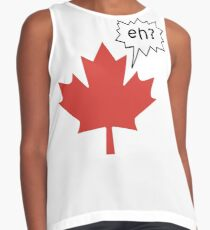 Funny Canadian eh T-Shirt Contrast Tank