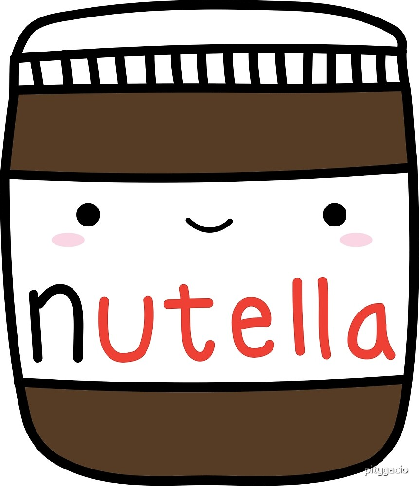 Nutella kawaii. by pitygacio