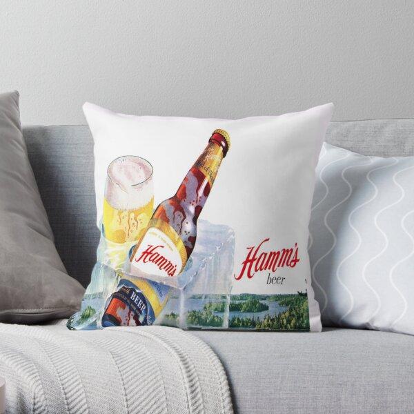Hamms Beer Pillow Throw Pillow