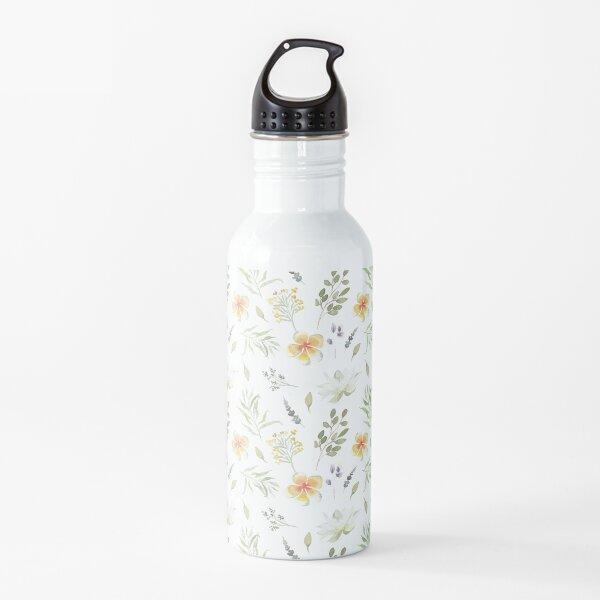 Flower pattern Water Bottle
