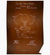 Police Nippers Patent 1870 Poster