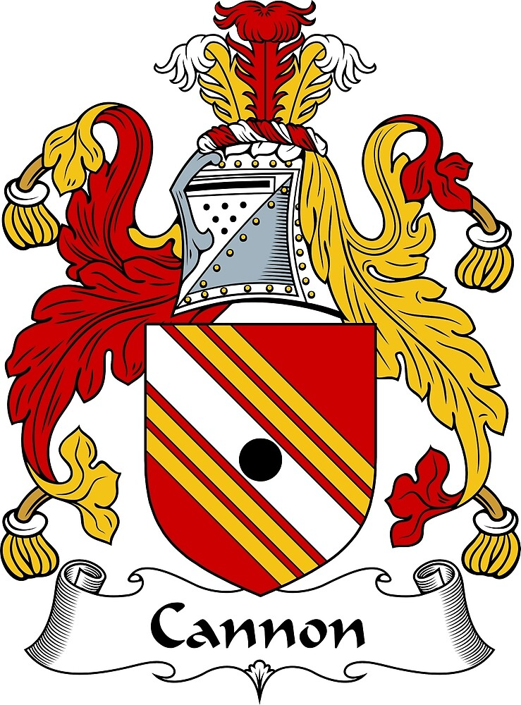 Cannon Coat of Arms / Cannon Family Crest by ScotlandForever