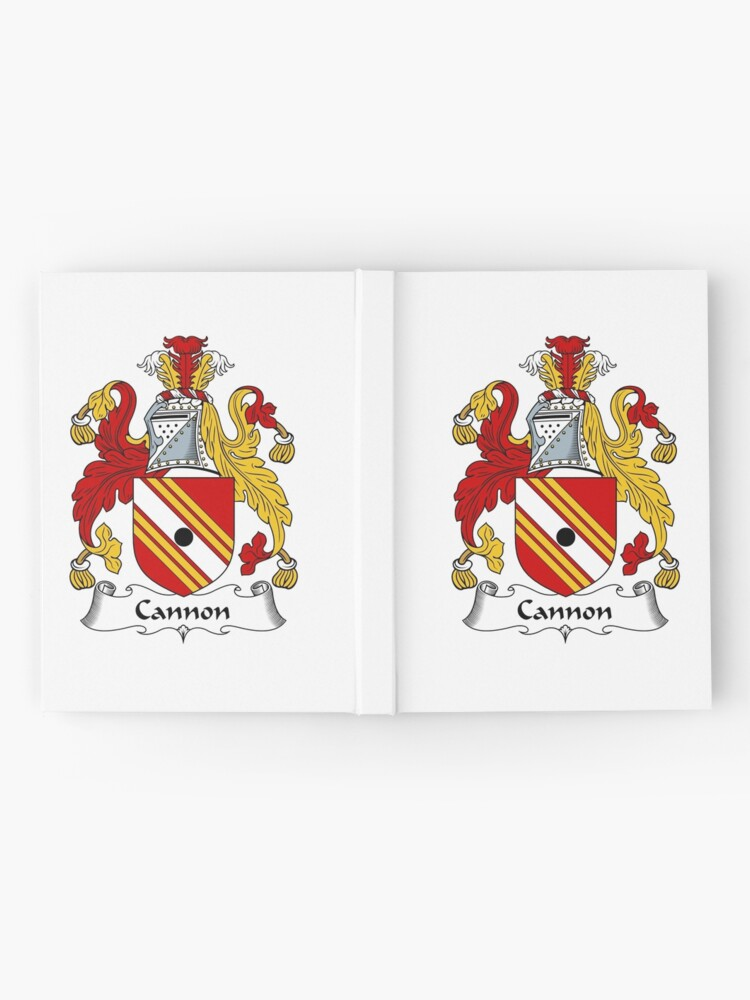 Cannon Coat Of Arms Cannon Family Crest Hardcover Journal By Scotlandforever Redbubble