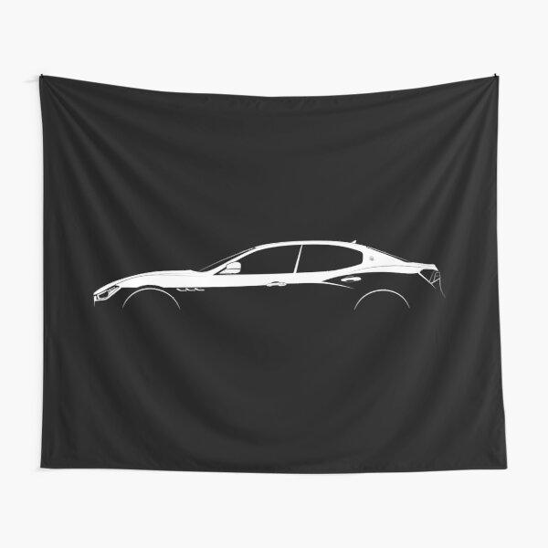 Maserati Ghibli S Silhouette Tentures