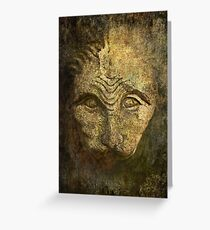 """ Mystical Creature "" Greeting Card"