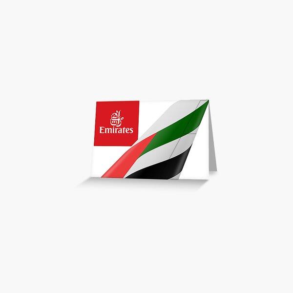 Emirates Logo Greeting Card