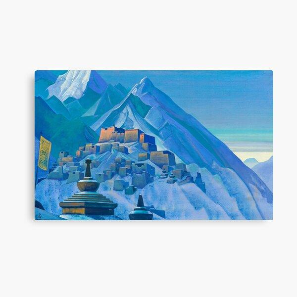Tibet, Himalayas, 1933 by Nicholas Roerich Canvas Print