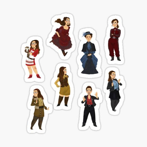 Every Clara Outfit Ever #1 Sticker