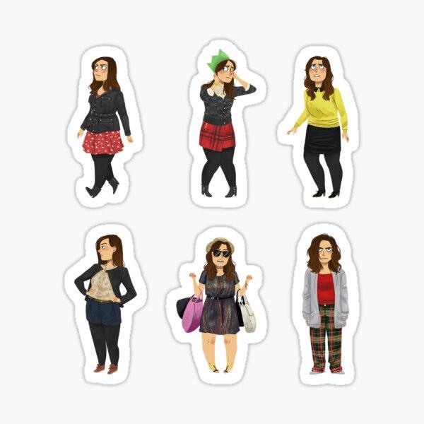 Every Clara Outfit Ever #4 Sticker