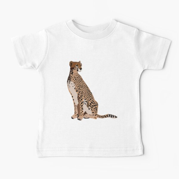 C is for Cheetah Baby T-Shirt