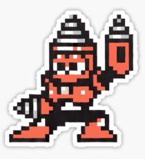 drill man Sticker
