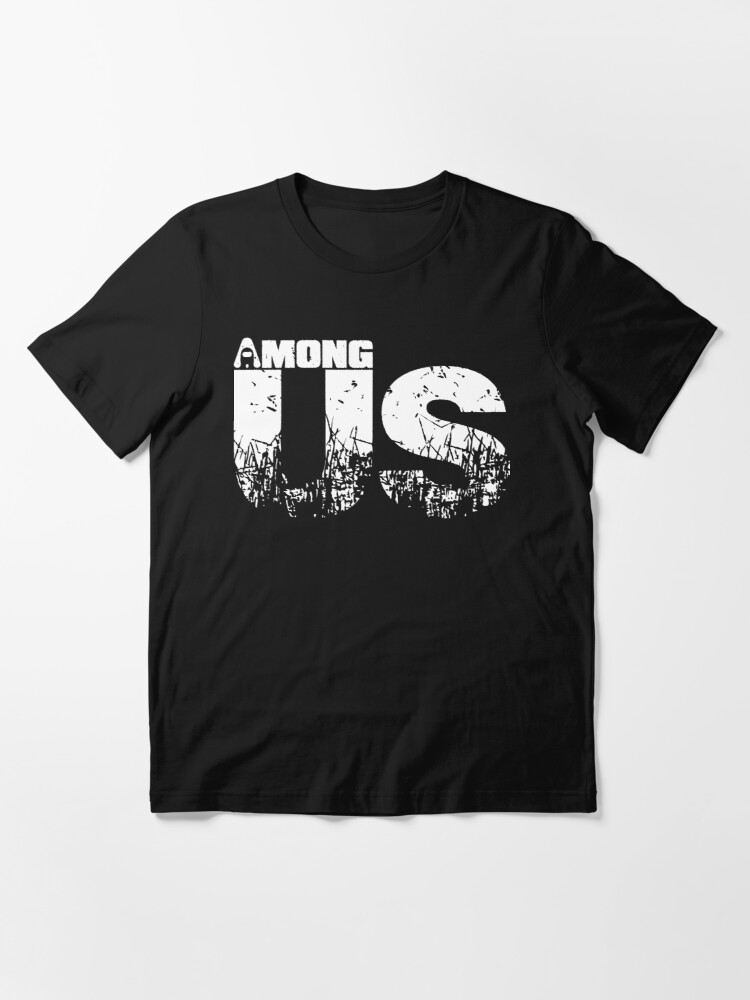 Alternate view of Among Us Among us (white) Essential T-Shirt