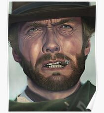 Clint Eastwood- The Man with No Name Poster